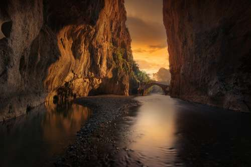 Canyon River Landscape Nature Water Outdoors