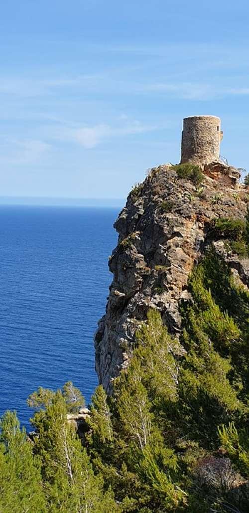 Castle Mallorca Architecture Tourism Spain