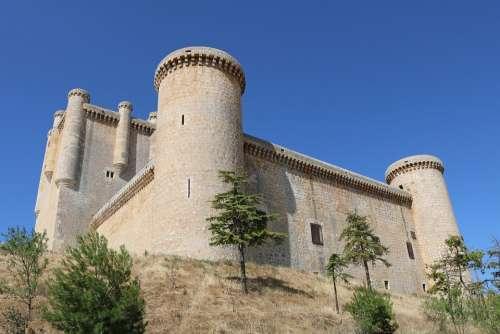 Castle Torrelobatón Valladolid Architecture Tourism