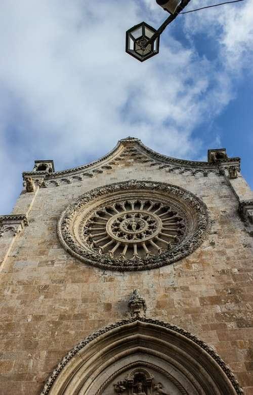 Cathedral Facade Architecture Puglia Ostuni