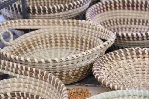 Charleston Basket Sweetgrass Gullah Baskets