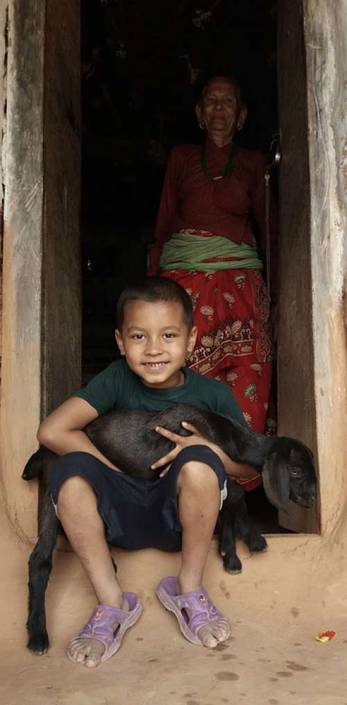 Child Nepali Child Nepali People Kids