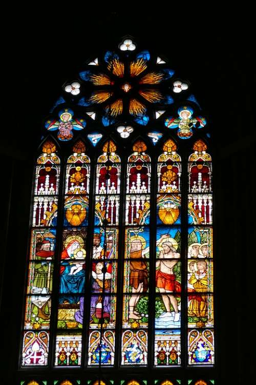 Church Cathedral Christianity Historically Window