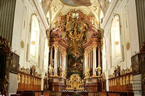 Church Altar Architecture Places Of Interest