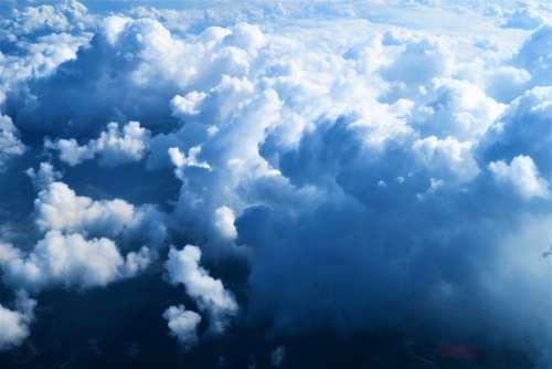 Clouds Sky Nature Open Blue Landscape Beautiful