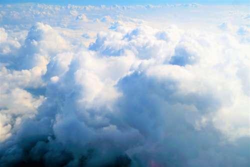 Clouds Sky Nature Blue Landscape Air Beautiful