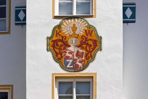 Coat Of Arms Facade Architecture Building