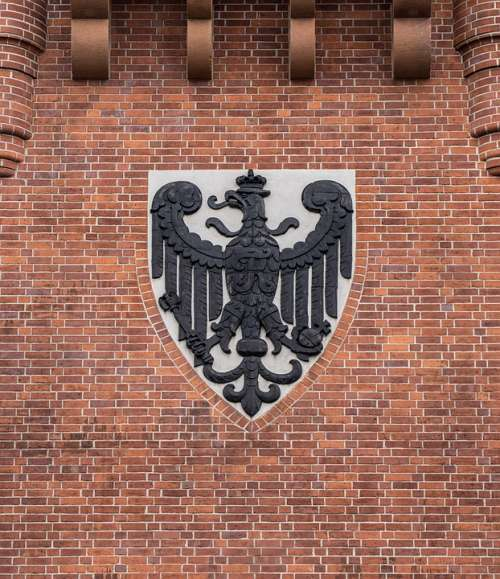 Coat Of Arms Prussia Adler Kaiser Wilhelm Brick