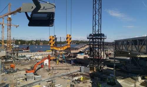 Construction City Stockholm Structure Development