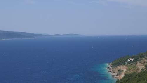 Croatia Brac Bol Tourism Vacations Adriatic Sea