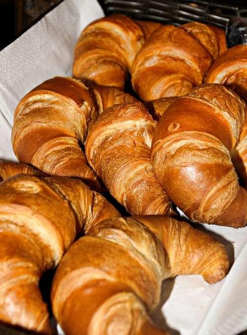 Croissant Pastries Breakfast Baked Goods Bakery