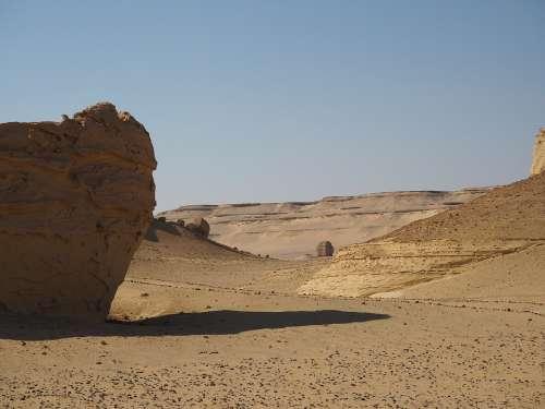 Desert Egypt Landscape