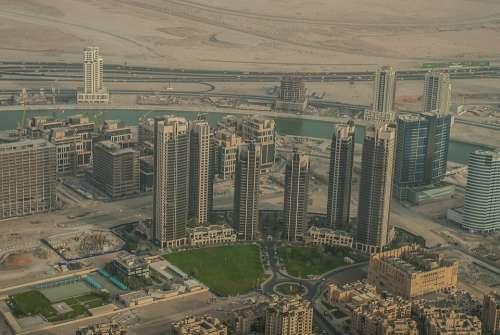 Dubai Uae U A E Emirates Architecture Tourism