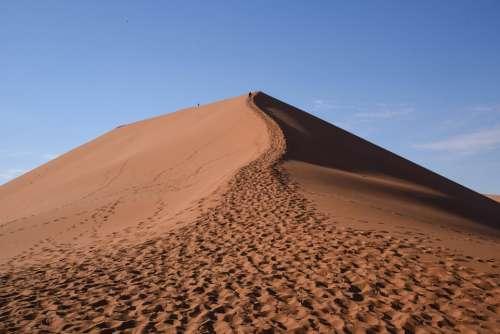 Dune45 Dune Africa Namibia Sand Desert Nature