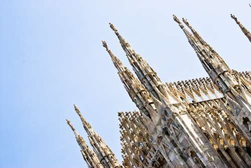 Duomo Milano Cathedral Italy Architecture Church