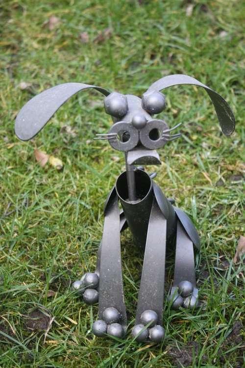 Easter Holidays Meadow Metal Formers Metal