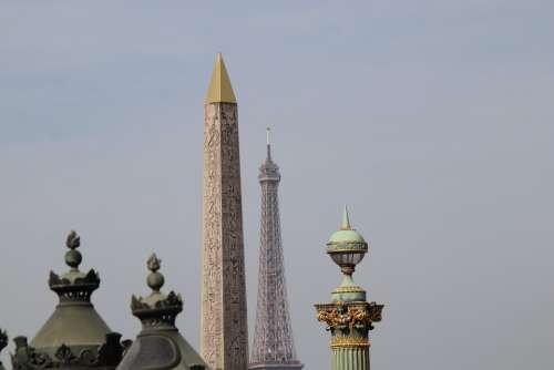 Eiffel Tower Obelisk Monuments History Paris