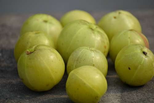 Emblic Amla Fruit Fresh Healthy Vitamins