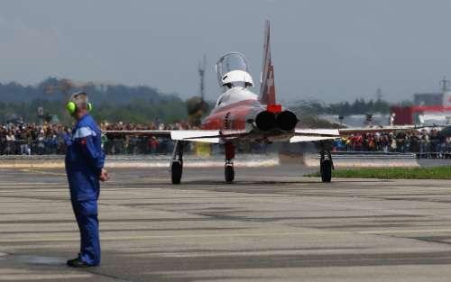 F-5 Tiger Switzerland Aircraft Air Show Northrop