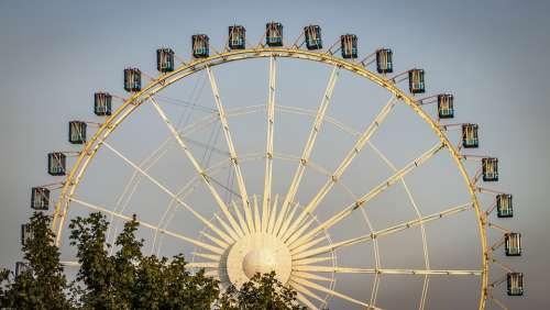 Ferris Wheel Fair Folk Festival Year Market