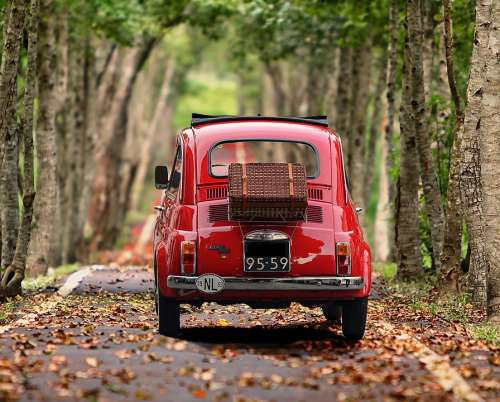 Fiat Fiat 500 Auto Oldtimer Vehicle Classic Italy