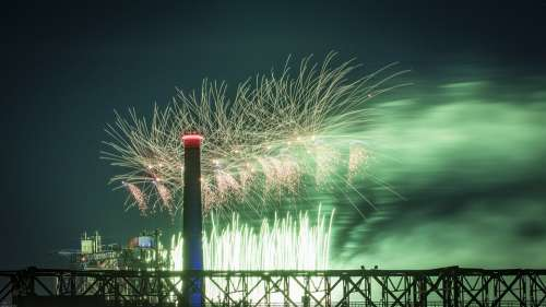 Fireworks Industry Factory Industrial Architecture