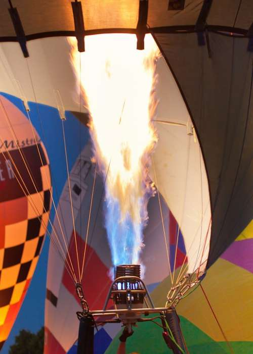 Flame Burner Hot Air Balloon Drive Flying Basket