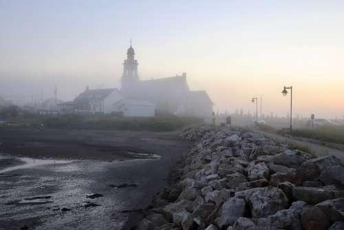 Fog Mysterious Mystical Landscape Mood Atmosphere