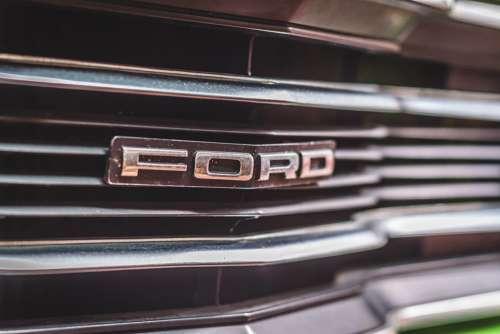 Ford Taunus Tc Logo Brand Chrome Oldtimer