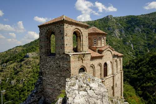 Fortress Historical Medieval Old Tower Bulgaria