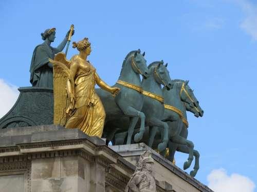 France Paris Monument History Museum Louvre