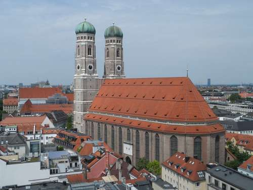Frauenkirche Munich Church Towers Monument