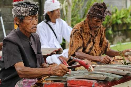 Gamelan Bali Tradition Indonesia Balinese Musical