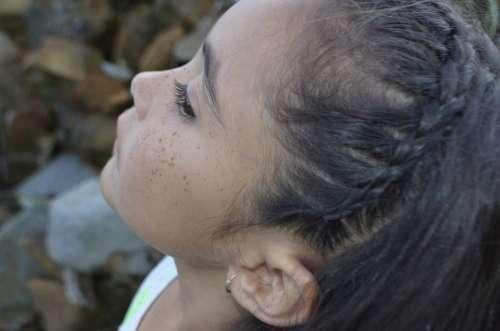 Girl Child Freckles