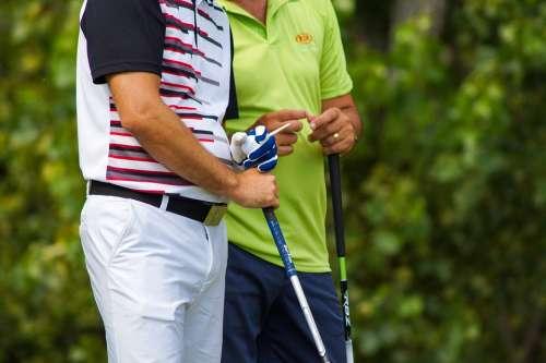 Golf Golfer Sport Green Tee Grass Play Man