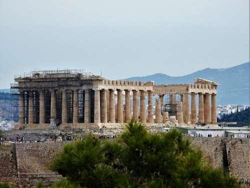 Greece Ακροπολις Ancient Virgin Athens Attractions
