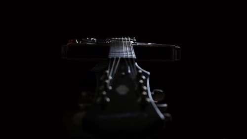 Guitar Instrument Black Music Rock Jazz Strings
