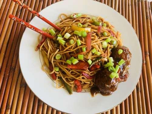 Hakka Noodles Veg Noodles Indian Style Noodles