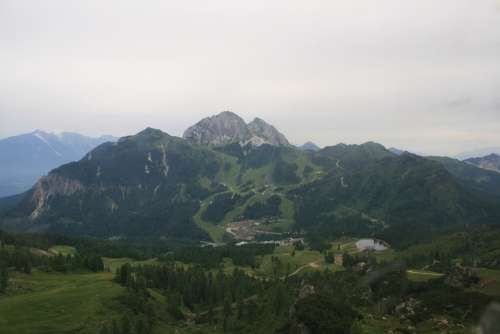 Holiday Austria Landscape Mountains Panorama
