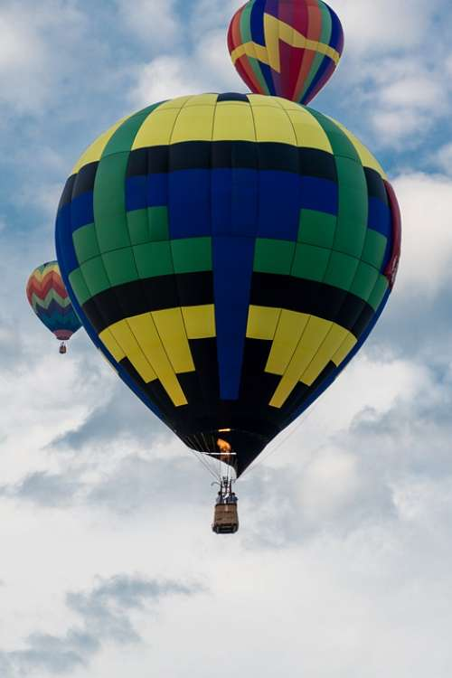 Hot Air Balloon Balloon Sky Float Gondola Basket