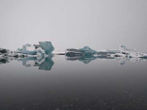 Ice Glacier Iceland Iceberg