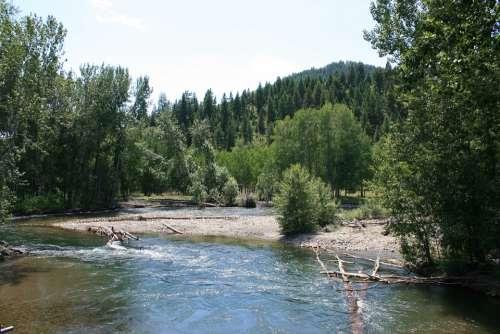 Idaho River Ketchum Id