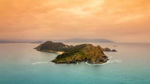 Island Of San Martiño Galicia Tourism Spain