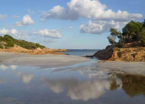 Italy Sardinia Beach Vacations Mediterranean Water