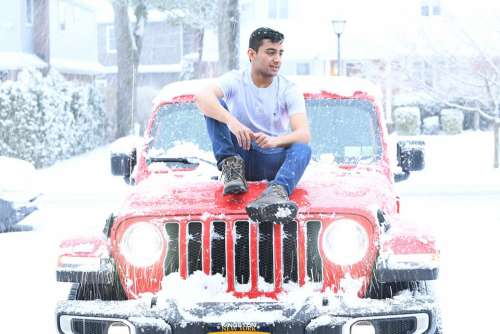 Jeep Red Passion Teenager Style American Icon