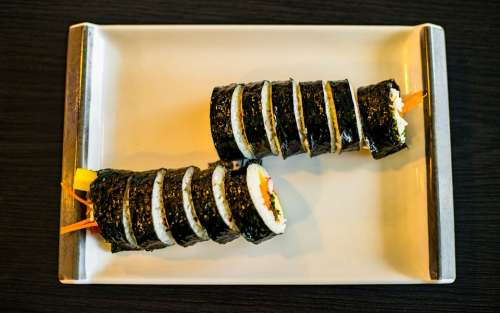 Kimbap Food Fastfood Tasty Delicious Breakfast