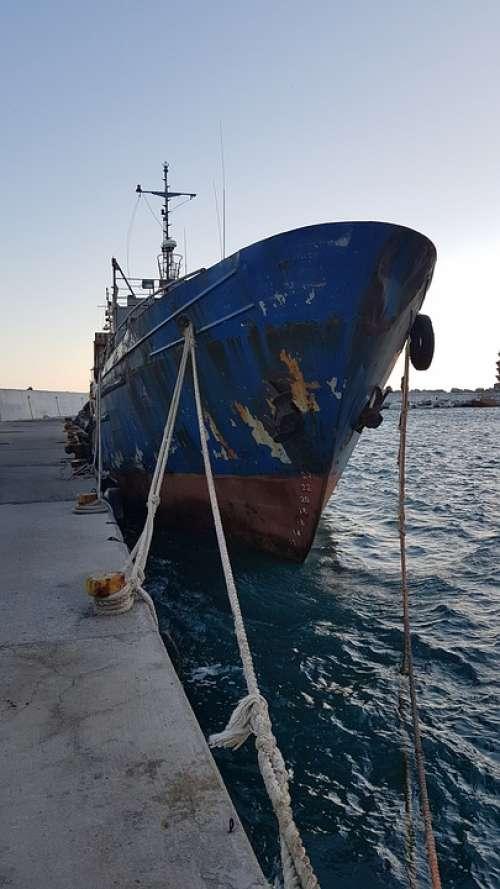 Krtea Agia Galini Port Ship Soul Seller