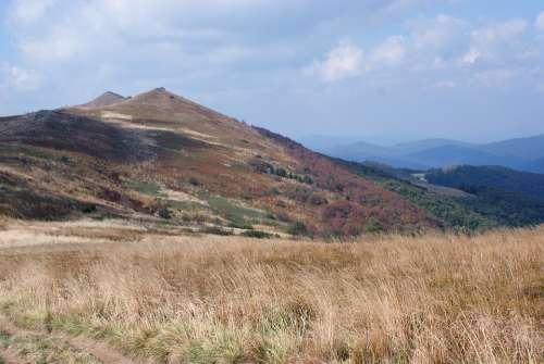 Landscape Bieszczady Tourism Holidays Nature