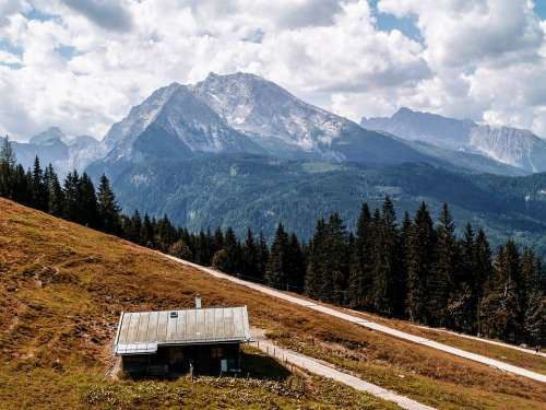 Landscape Mountains Alps Sky Hiking Outdoors