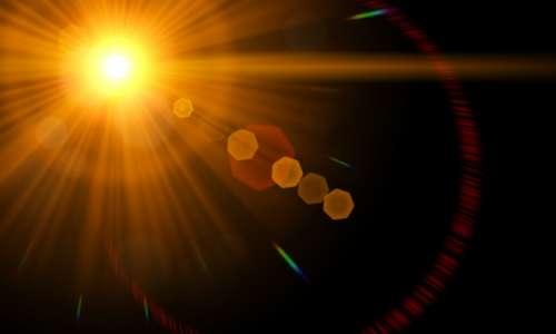 Lens Flare Light Flare Spotlight Rays Bokeh Shine